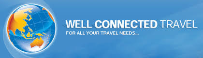 well connected travel logo